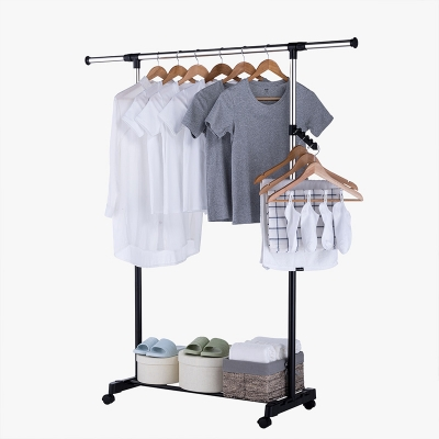 Extenable Singel Pole Garment Rack 111