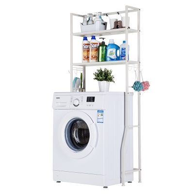 2 Tier Laundry Room Rack Shelving 484-1