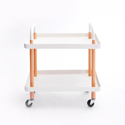 2 Tier PP Cart Square-shaped