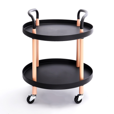 2 Tier PP Cart Round-shaped
