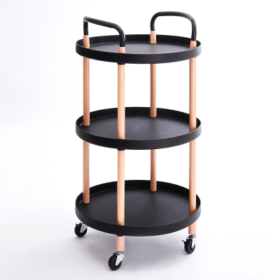 3 Tier PP Cart Round-shaped