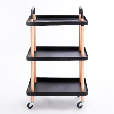 3 Tier PP Cart Square-shaped